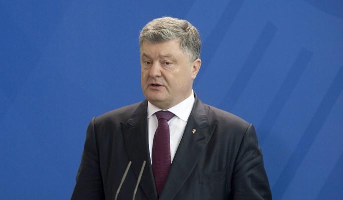Объявлена дата ареста Порошенко