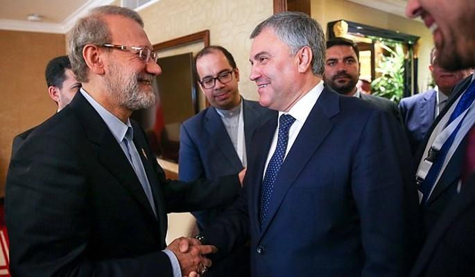 Парламенты России и Ирана укрепляют отношения двух стран