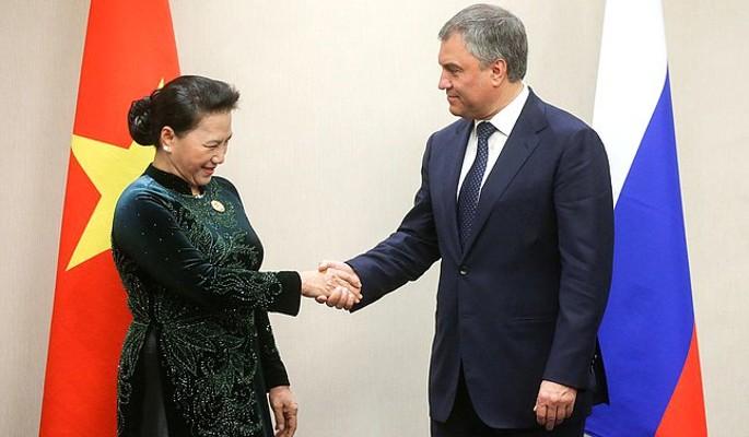Володин пригласил вьетнамских законодателей за полярный круг