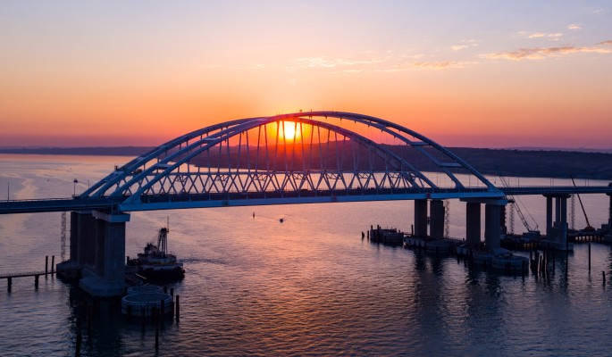 Объявлено о плане подрыва Крымского моста