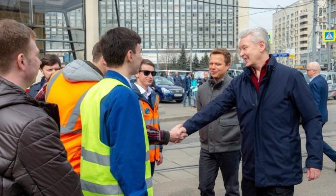 Собянин: В течение пяти лет в Москве обновят парк трамваев