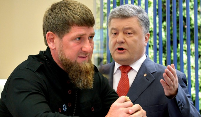 Порошенко советуют покаяться перед Кадыровым