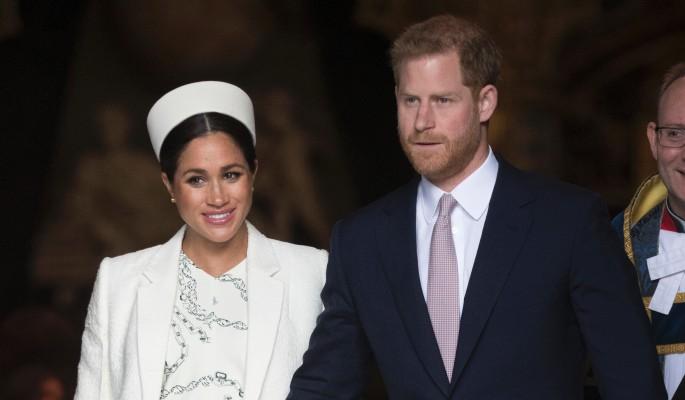 Принц Гарри сбежал от Маркл накануне родов