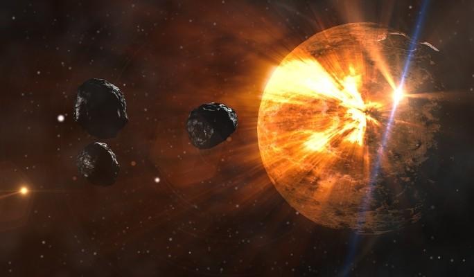 Объявлено об угрозе столкновения Земли с гигантским астероидом
