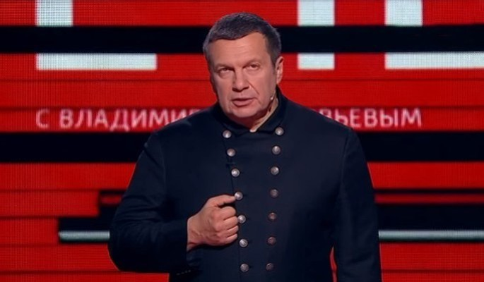 """""""Ты сволочь!"""": разъяренный Соловьев вышвырнул зарвавшегося украинца"""
