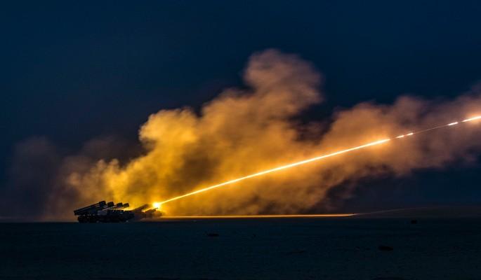 Подручные США обстреляли ракетами россиян
