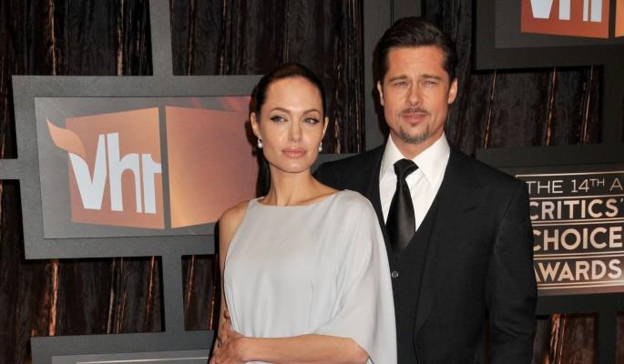 Исхудавшая Джоли вернулась к скандалисту Питту