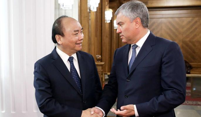 Володин призвал отменить визы между Россией и Вьетнамом