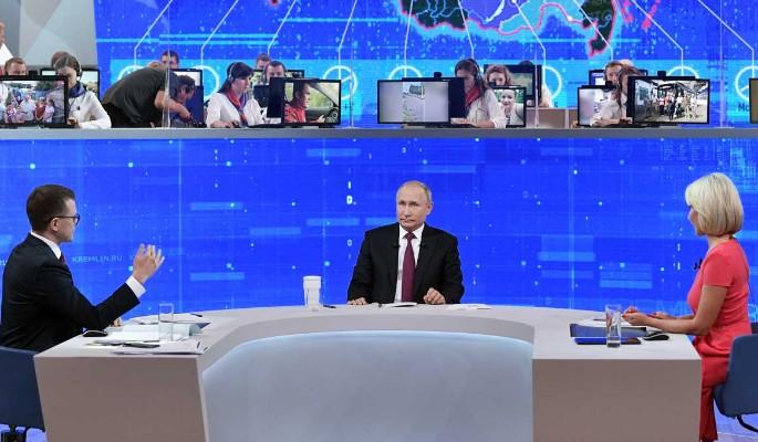 """""""Это безобразие!"""": жуткие снимки взбудоражили Путина на прямой линии"""