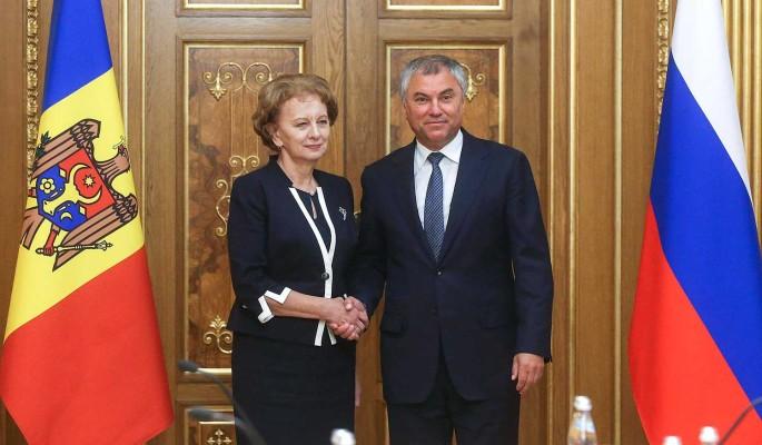 Россия и Молдавия активизируют межпарламентское сотрудничество
