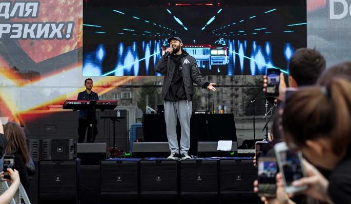Doritos отпраздновал свой выход на российский рынок концертом Мота