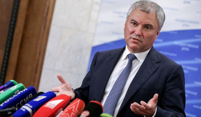 Володин оценил выборы в Верховную раду Украины