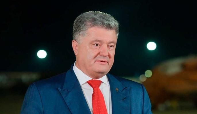 Объявлено о возвращении бежавшего с позором Петра Порошенко