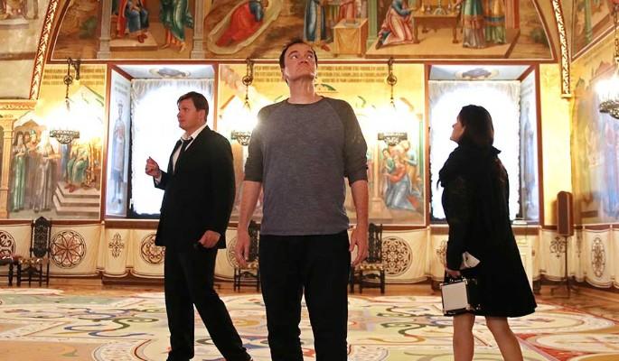 Прибывший в Москву Квентин Тарантино заинтересовался похоронами