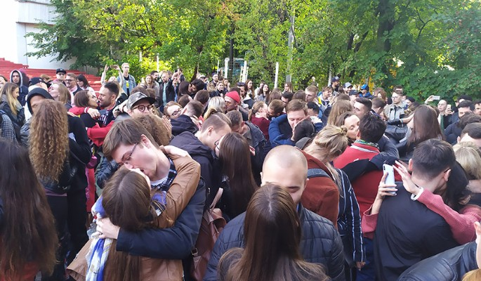 В России зарегистрирован рекорд самого массового поцелуя