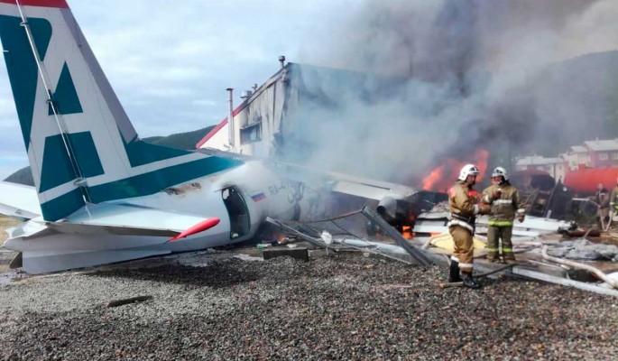 Турчак попросил Путина наградить спасшую 43 пассажиров стюардессу Ан-24