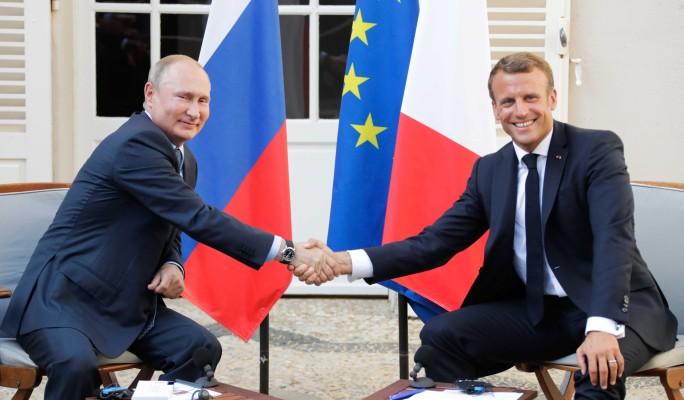 Путин заинтриговал обещанием на встрече с Макроном