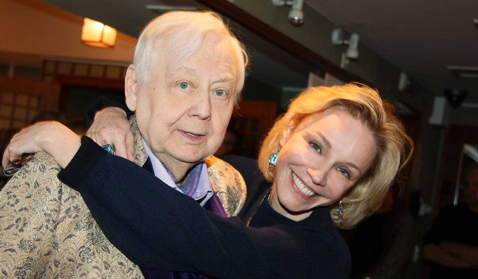 Parents support actress after death of Oleg Tabakov