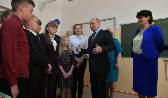 Заботливый Путин выручил школьника