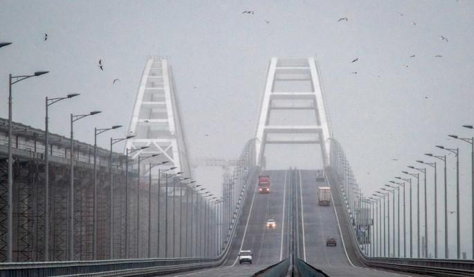Только построили и уже разбирают: на Крымском мосту начался демонтаж