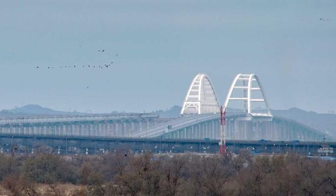 Вулкан выстрелил: раскрыта причина обвала на Крымском мосту