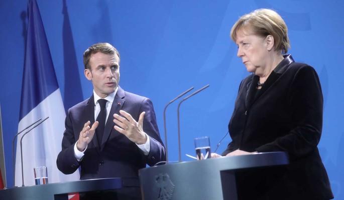 Меркель и Макрону угрожали химическим оружием