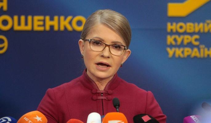 Изменившаяся после семейной трагедии Тимошенко поразила народ