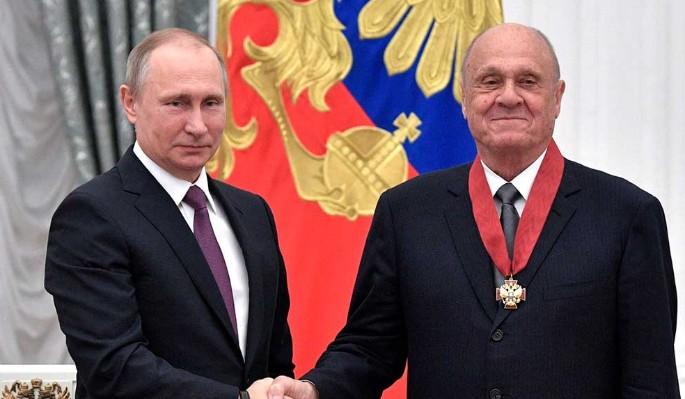 Меньшов опешил от энергичного Путина