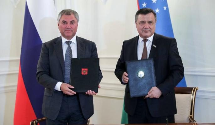 Россия и Узбекистан расширяют межпарламентское сотрудничество