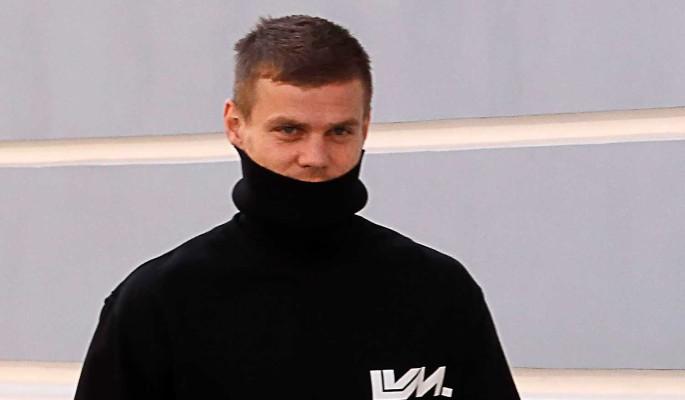 Освобожденного из тюрьмы Александра Кокорина мигом отправили в клинику