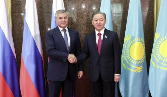 Володин призвал сближать законодательство стран Евразии