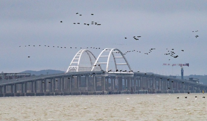 Заблокирован: Объявлено о диверсии СБУ с Крымским мостом