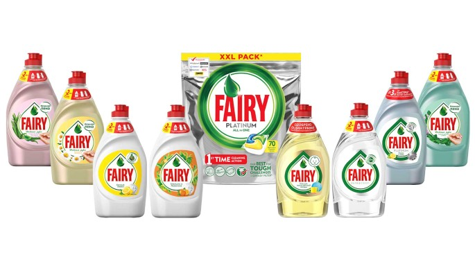 Fairy представляет коллекцию средств для ухода за посудой