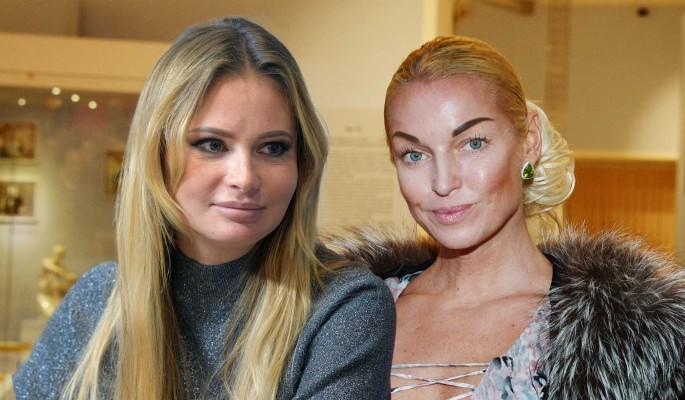 Дана Борисова устроила разборки с Волочковой