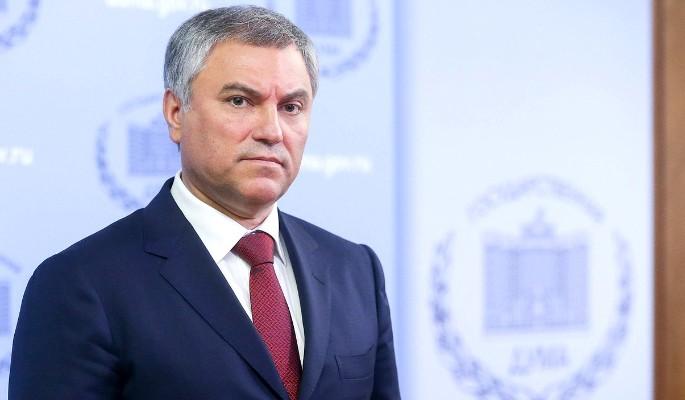 Володин назвал провокацией задержание депутата Юмашевой в США