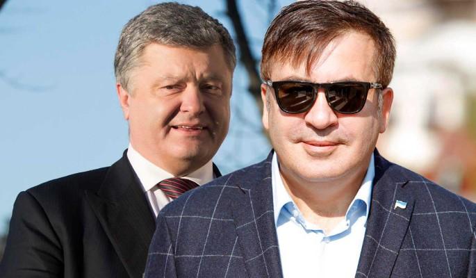 Новый удар по Порошенко: заведено дело о похищении Саакашвили