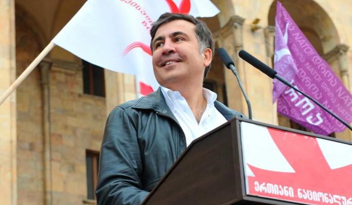 Саакашвили мощно врезал вороватому Порошенко
