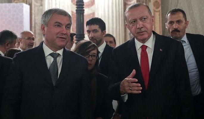 Володин: точки напряжения в Евразии выгодны США