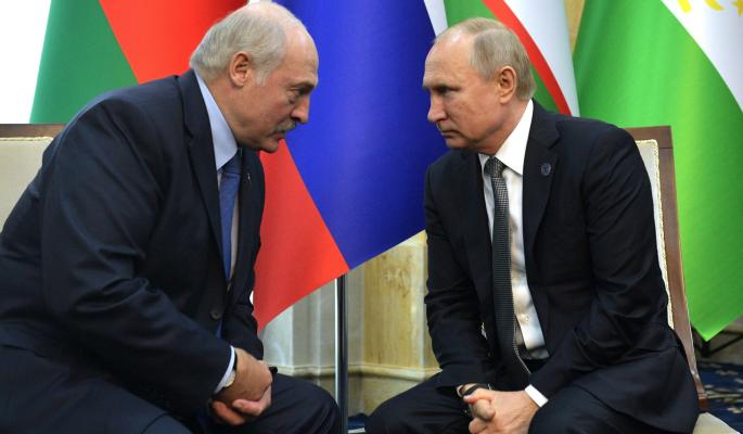 Путин дал звонкую оплеуху подхалиму Лукашенко