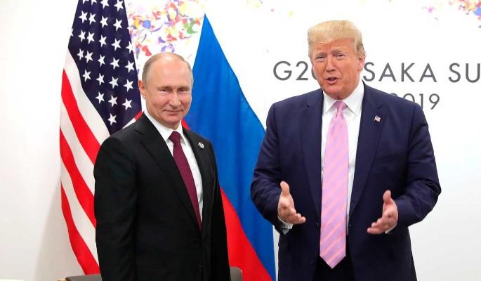 Поджавший хвост Трамп помог Путину