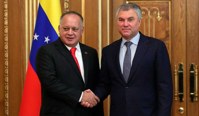Володин: Вмешательство США в дела Венесуэлы недопустимо