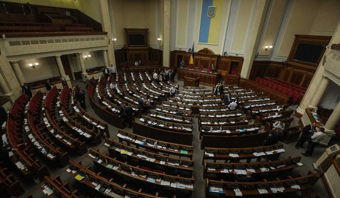 Объявлено о попытке захвата здания Рады в Киеве