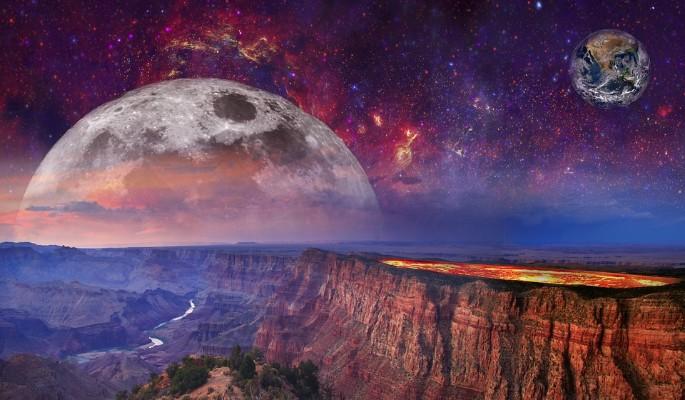 На Луне и Марсе обнаружили жизнь