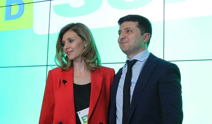 Роскошная жена Зеленского покоряет мир