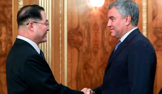 Володин призвал КНДР развивать межпарламентские контакты