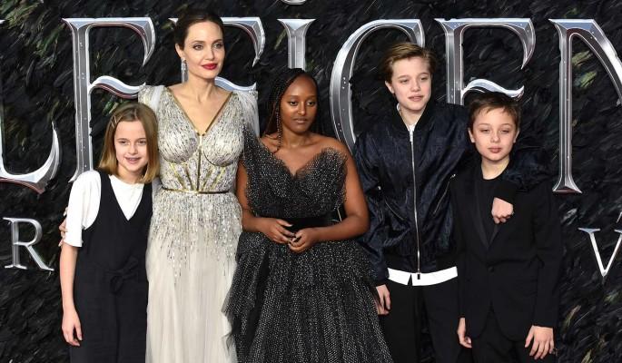 13-летняя дочь устроила скандал Анджелине Джоли