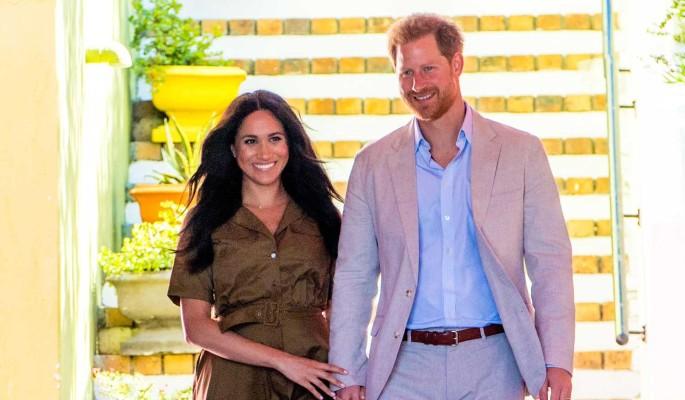 Отец преподал урок принцу Гарри с Меган Маркл