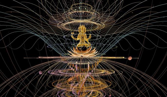 Иммерсивная выставка Mystic Universe: Мистическое путешествие сквозь вселенные