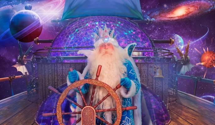 Настоящий Дед Мороз приглашает на юбилей в Новогоднюю страну в Крокусе