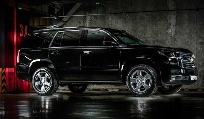 Chevrolet Tahoe: большой и страшный